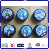 Promotional Customized Black Rubber Ice Hockey Puck