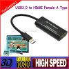 Premium HDMI to USB 3.0 a Type Mhl Converter