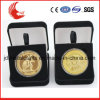 New Arrival Metal Souvenir Enamel Metal Coins with Velvet Packing