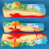 High Quality Valcano Model for Geography Teaching (R210109)