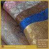 Snake Pattern Yabuck PU Leather for Shoe (s174)