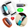 Activity Sport Pedometer Wristband Fitness Tracker Watch Smart Bracelet M3