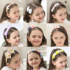 Little Girl Hairband Soft Elastic Bowknot Headband Hair Accessories for Children