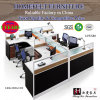 White Simple Big Modern Style Office Furniture Workstation