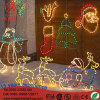 Reindeer Christmas Tree Santa Clause Star LED 2D Christmas Motif Light for Indoor and Outdoor Use
