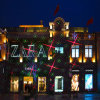 Christmas Garden Laser Light with Party for Holiday Decorantion