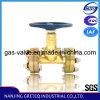 China Brand QJT200-20 Brass Thru Type Shutoff Valve