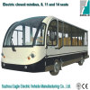 Electric Bus, Aluminum Hard Door, 11 Seats, Eg6118kbf, CE Approved
