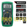 2000 Counts Professional Digital Multimeter (MS8321F)