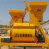 Double Horizontal Axle Force Concrete Mixer (JS1000) Concrete Mixing Machine