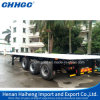 Semi Flat Bed Container Trailer on Port