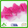 Popular Magenta Exquisite Embroidery Mesh Lace