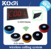 CE Approved 433.92MHz Wireless Call System for Waiter