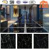 Super Black Artificial Polished Marble Floor Tiles (JM6635G)