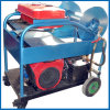 High Pressure Sewer Drain Cleaning Machine 24HP Gasoline Engine