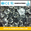 Colorless Transparent Round and Smooth Reflective Beads