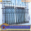 Power Coating Black Steel Window Fence