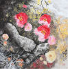 Traditional Chinese Birds and Delicate Flowers Ink and Wash Painting