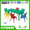 Very Good Quality Plastic Kid Furniture Table for Sale (KF-10)