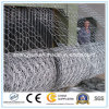 Hot Dipped Galvanized Iron Wire Woven Hexagonal Mesh Gabion Box
