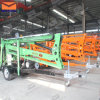 200kg Trailer Mounted Articulating Boom Lift