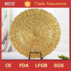 Hot Sale Antique Eco-Friendly Wedding Gold Charger Plates Wholesale