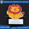 Pretty Metal Badge with Customized Shape and Color for Sales