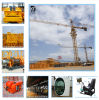 Qtz125 Tower Crane Max Capacity 8t Has 60m Arm Tower Crane