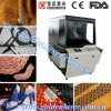 Upholstery Leather Punching Machine/ Laser Engraver on Leather PU Shoes Bags Belts