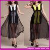 European Style Silk Maxi Evening Gown Elegant Women Dresses, Cheap Long Evening Dresses (B-0033)