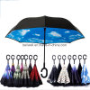 Custom Printed Reverse Inverted Rain Umbrella High Quality
