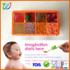 Microwave Safe Silicone Food Tray Baby Food Container
