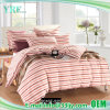 Pink Stripe Cotton Plain Wholesale Bed Cover Hotel