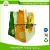Novelty Advertising Film Colorful Supermarket Shopping Tote PP Woven Bag