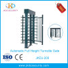 Secured Control Full Height Turnstile with Identification Card Reader