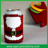 Mrs Claus 12oz Red Foam Can Cooler for Christmas Gift
