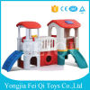 Wholesale Kindergarten Furniture Plastic Play House with Slide Indoor Slides, Children′s Plastic Slides, Playhouse Baby Toy