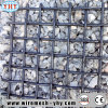 25mm Opening Stainless Steel Woven Crimped Screen for Quarry