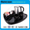 Hotel Melamine Welcome Tray and Electric Kettle Tray Set