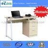 Hot Modern Wood Office Table Furniture with Fixed Pedestal (RX-D1034)