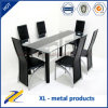 6 Seater Dining Room Furniture Glass Dining Table