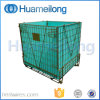 Folding Galvanized Wire Mesh Container for Pet Preforms