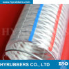 Hyrubbers Transparent PVC Steel Wire Reinforced Hose / Flexible Plastic Pipe Tube/ PVC Hose