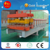 Glazing Tile Roofing Sheet Roll Forming Equipment Tile Making Machine