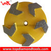 Metal Bond Diamond Grinding Pucks with 5 Arrow Segment