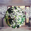 LED Artificial Wedding Tree Lights 24V 2.5m 1860LED 100W White Cherry Tree