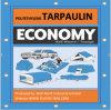 8X8 Weave Economy Polyethylene Tarpaulin