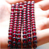 Pure Natural Garnet Loose Beads Sweater Chain