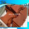 High Duty Orange Red Color Interlock Rubber Tiles