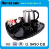 Honeyson Ss Kettle with Tray for 5 Stars Hotel